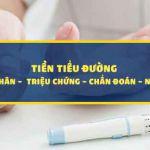 Nhận biết dấy hiệu tiền tiểu đường - chẩn đoán và phòng ngừa