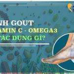 Vitamin-C và Omega-3 có tác dụng gì đối với bệnh nhân Gút?