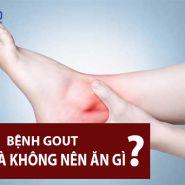 Những gì có thể và không thể ăn đối với bệnh Gout?