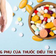 Tác dụng phụ của các loại thuốc thường dùng cho bệnh gút là gì?