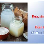 Dừa, Sữa Dừa, Dầu Dừa Và Tiểu Đường – Mối Liên Quan Đáng Lưu Tâm