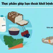 Thực phẩm có thể giúp điều trị bệnh gút như thế nào?