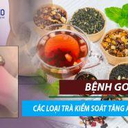 [Bệnh GOUT] 5 loại trà thảo dược để giảm mức axit uric