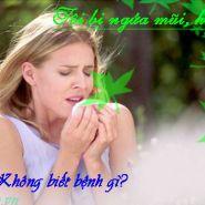 Hay bị ngứa mũi và hắt xì là triệu chứng của bệnh gì-Có phải bệnh đường hô hấp?