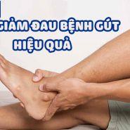 Mẹo giảm đau gút hiệu quả
