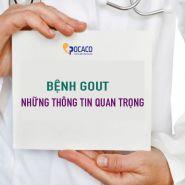 Bệnh Gout: Những lưu ý quan trọng bạn không được bỏ lỡ