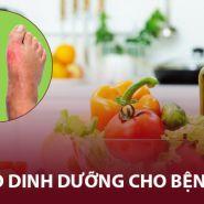 [Bệnh Gout] Chế độ dinh dưỡng kiểm soát tăng axit uric