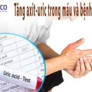 Tăng Axit Uric trong máu và bệnh Gout