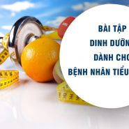 7 bài tập và chế độ ăn kiêng để kiểm soát bệnh tiểu đường