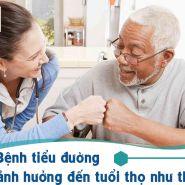 Bệnh tiểu đường ảnh hưởng đến tuổi thọ như thế nào?