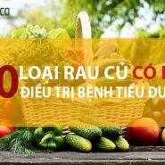 10 loại rau củ không thể thiếu trong bữa ăn hằng ngày của bệnh nhân tiểu đường