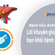 Bệnh tiểu đường & sức khỏe gan: Lời khuyên để bảo vệ bản thân khỏi bệnh gan