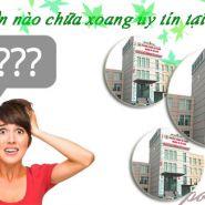 Bệnh viên nào chữa viêm xoang tốt nhất tại Hà Nội- Uy tín và chất lượng