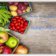 Chế Độ Ăn Uống Cho Bệnh Gút Và Nồng Độ Axit Uric Cao – Những gì bạn nên biết là gì?