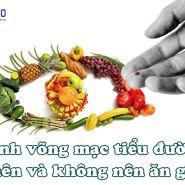 Bệnh võng mạc tiểu đường: Thực phẩm nên và không nên ăn