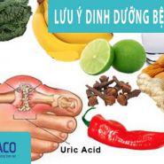 Gout & dinh dưỡng: Đây là những gì bạn cần thực hiện