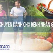 [Bệnh Gout]  Những lời khuyên tốt nhất cho dinh dưỡng và tập thể dục