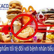 8 thực phẩm tồi tệ nhất cho bệnh nhân tiểu đường