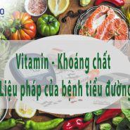 Những loại vitamin nào tốt nhất cho bệnh tiểu đường?