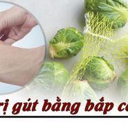 Lợi ích của lá bắp cải đối với bệnh gút